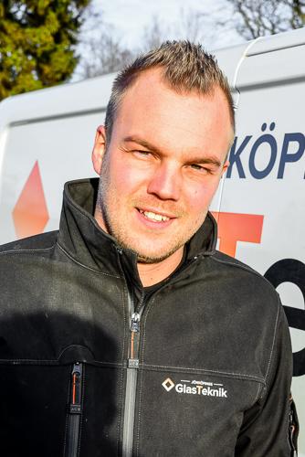 Adam - Glasmästare i Jönköping - Jönköpings Glasteknik