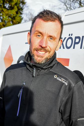 Niklas - Glasmästare i Jönköping - Jönköpings Glasteknik